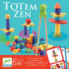 Totem Zen Game - great for developing eye to hand coordination and fine motor skills.