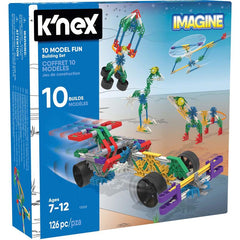 K'nex construction kits - great for developing children's fine motor abilities.