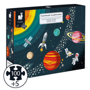 Solar System Puzzle + Poster + Book