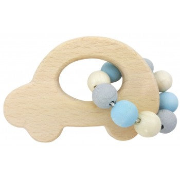 Hess Natural Car Rattle - Blue