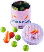Haba Tin of Peas and Carrots - Send A Toy