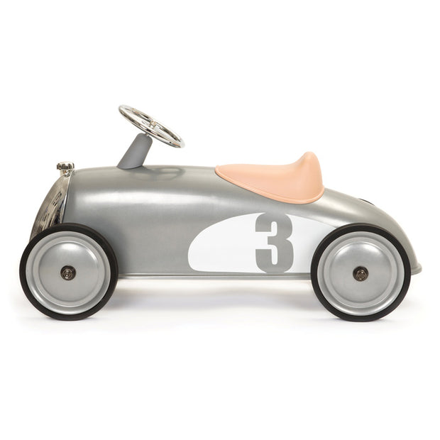 Kids Baghera Rider Silver - Ride-On Toy - side view