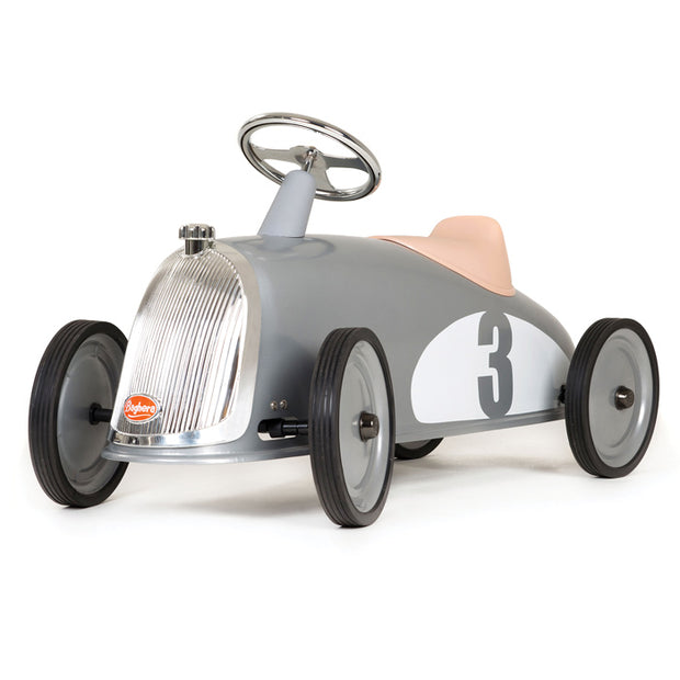 Kids Baghera Rider Silver - Ride-On Toy