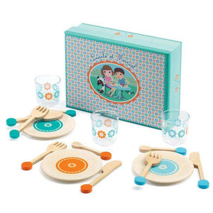 Lucile N Prunelle Crockery Role Play Set - Send A Toy