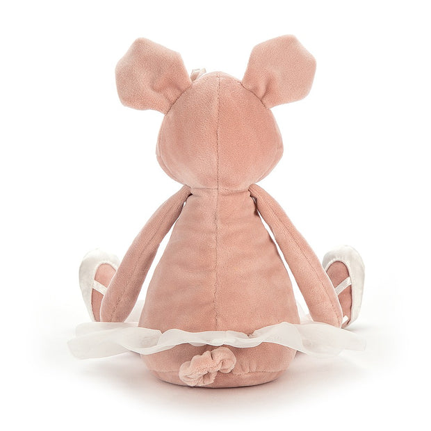 Dancing Darcey Piglet soft toy - Jellycat - rear