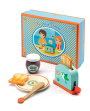 Aurora & Thodore miniature breakfast food play set - Djeco