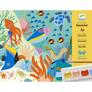 Natural World Gouaches Art Set - Djeco