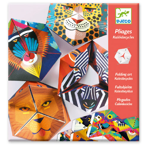 Flex Animals Folding Paper Art