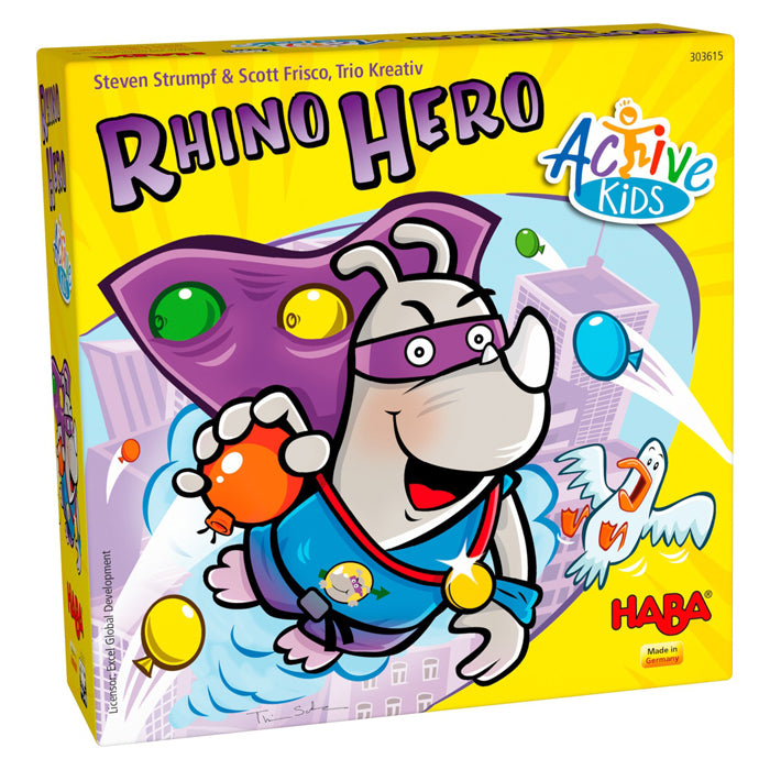 Haba Active Kids - Rhino Hero