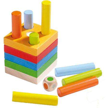 Haba - Quantities Pegging Game - Send A Toy