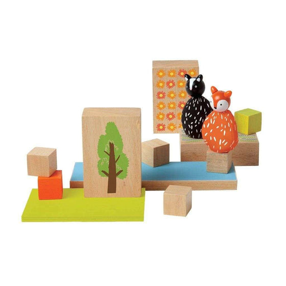 MiO Woodland Set - Fox and Skunk - Send A Toy