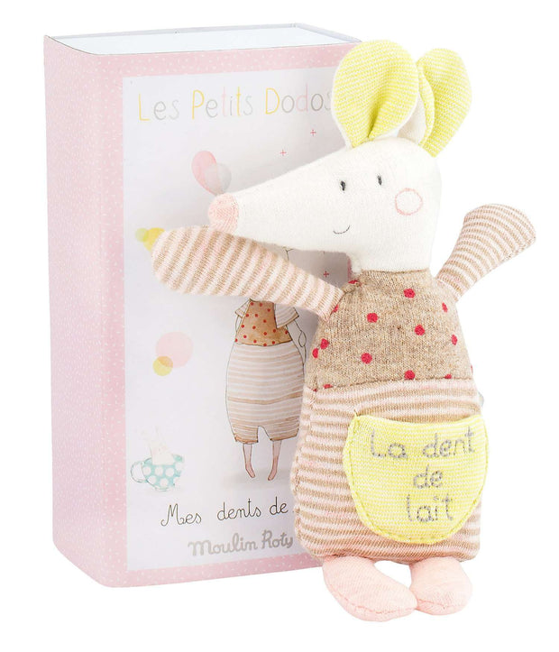 Les Petits Dodos Tooth Mouse (Moulin Roty) - Send A Toy