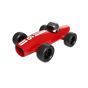 Playforever Verve Malibu Ross red racing car toy - Send A Toy