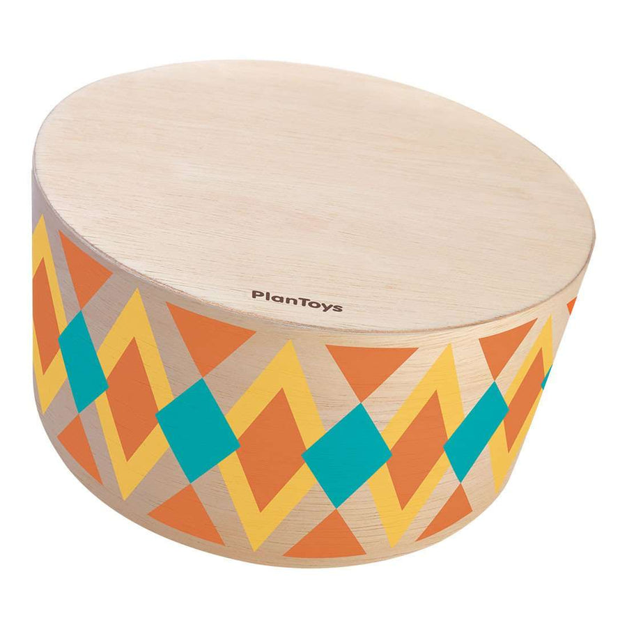 Wooden rhythm box drum musical instrument - Plan Toys
