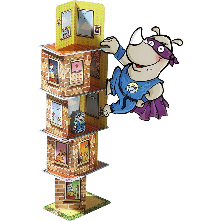 Rhino Hero Game - Haba - Send A Toy