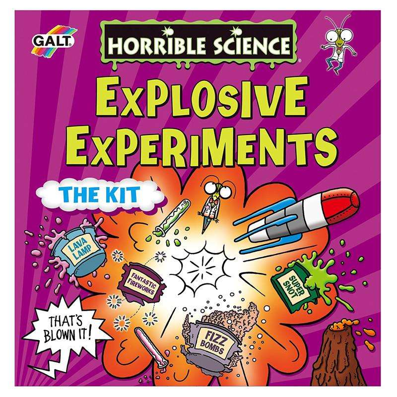 Explosive Experiments Science Kit - Send A Toy