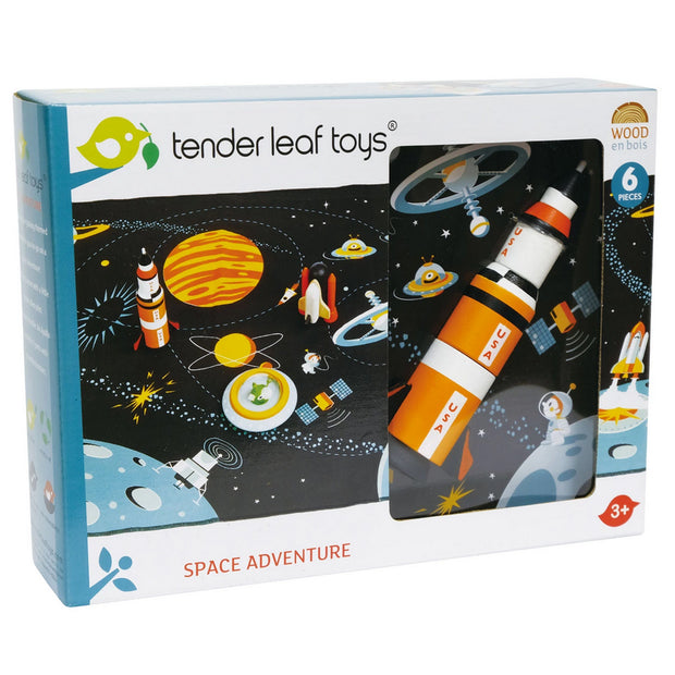 WoodenSpace Adventure Play Set - retail box