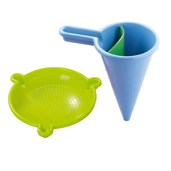 Haba Spilling funnel and Sieve sand tool set - Send A Toy
