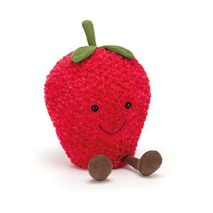 Amuseable Strawberry by Jellycat