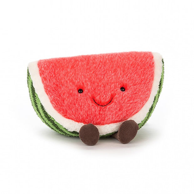 Amuseable watermellon soft toy by Jellycat