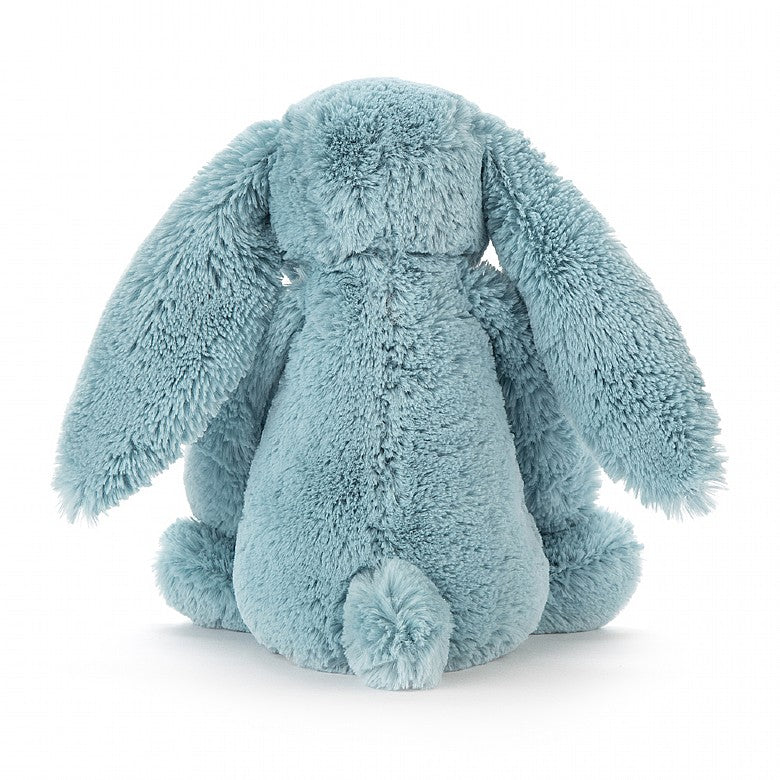 Rear view of Jellycat Blossom Aqua bunny
