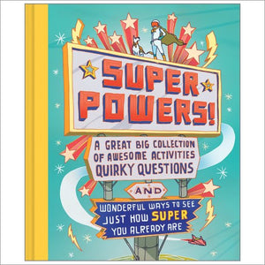 Children's activity book - Super Powers! M H Clark