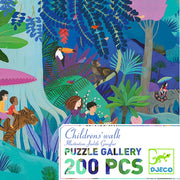 Children's Walk Gallery Puzzle + Poster
