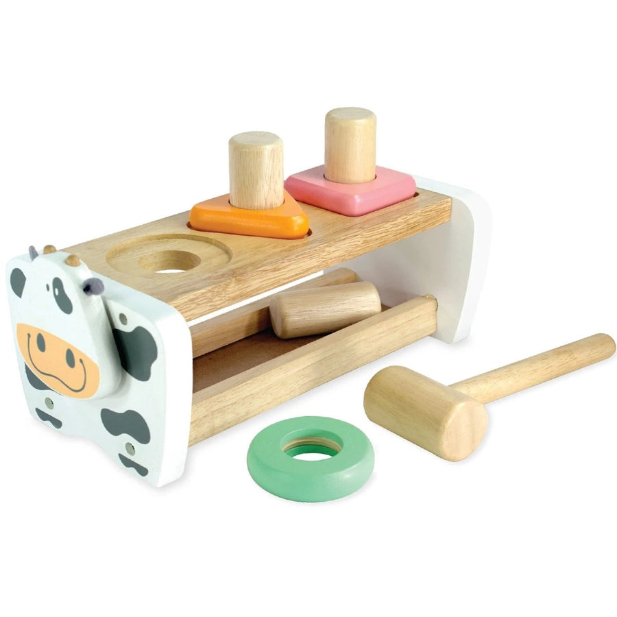 Cow Hammer Bench + Shape Sorter