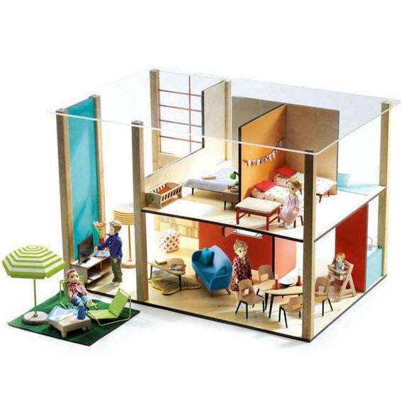 Cubic Contemporary Doll House - Send A Toy