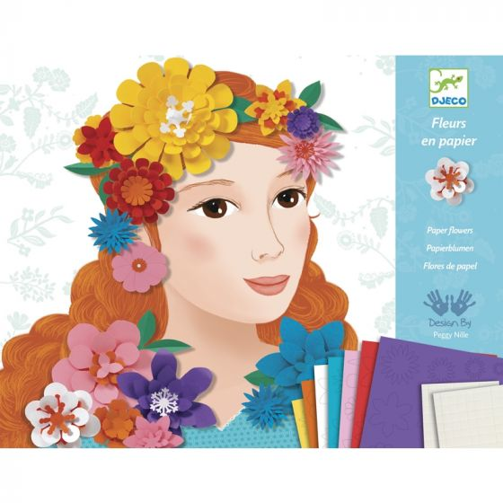 Paper Flowers Craft Kit
