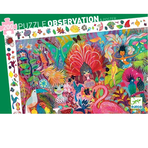 Rio Carnival Observation Puzzle (200-piece)
