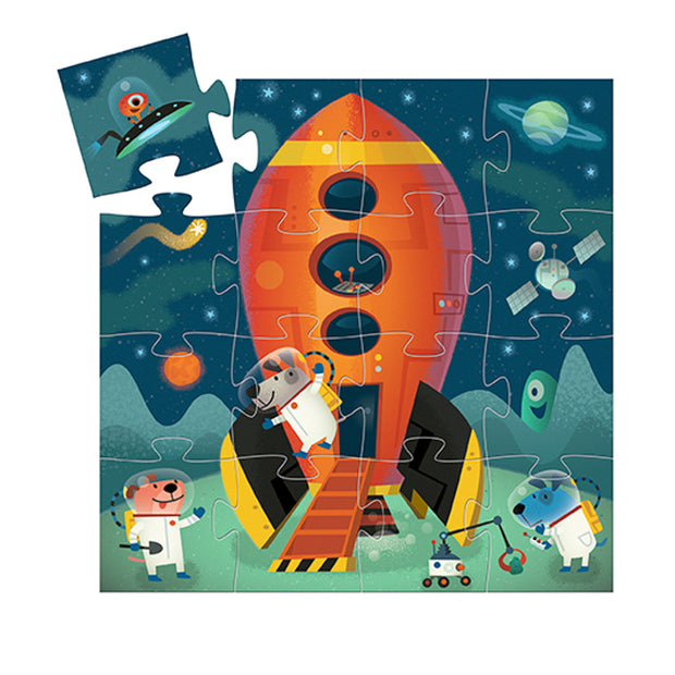 Spaceship Puzzle 16-Piece