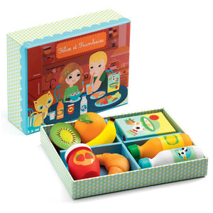 Flix and Franoise Morning food play set - Djeco