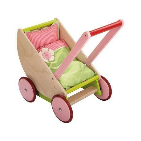 Doll Pram Cherry Blossom - Haba - Send A Toy