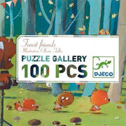 Forest Friends Puzzle Gallery (Age 5+) - Send A Toy