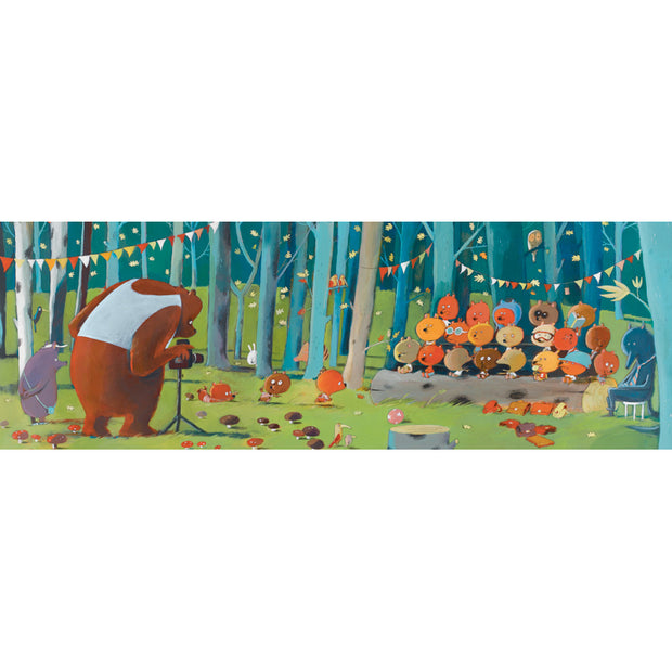 Forest Friends Gallery Puzzle + Poster