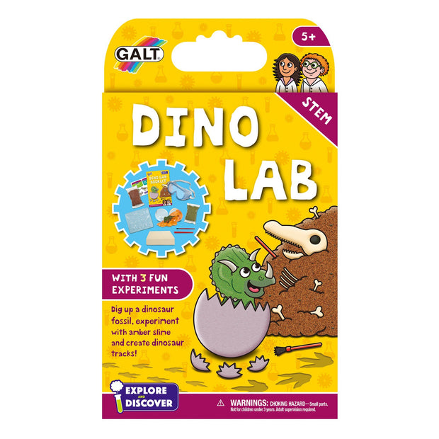 Dinosaur lab experiment kit by Galt