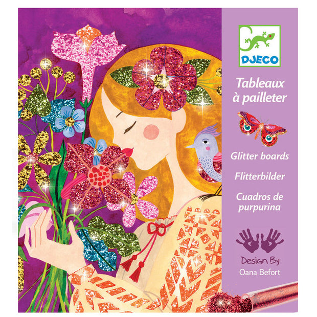 Glitter Boards Craft Kit - Scent of Flowers