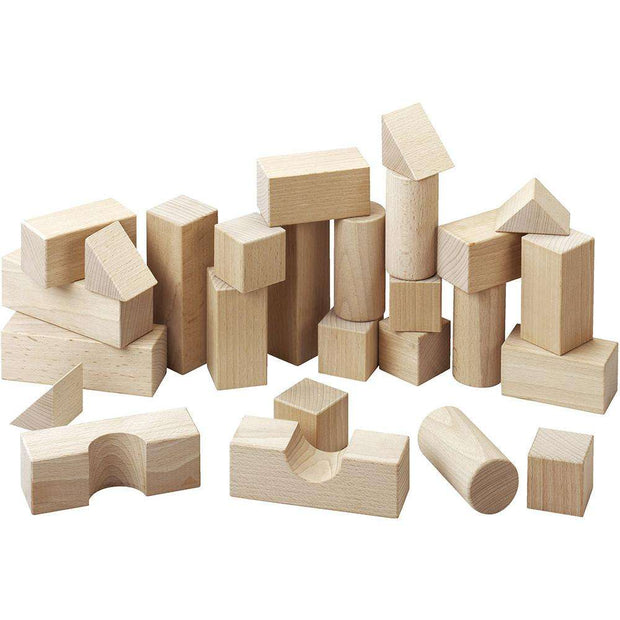 Haba Deluxe Building Blocks (Starter Set) - Send A Toy