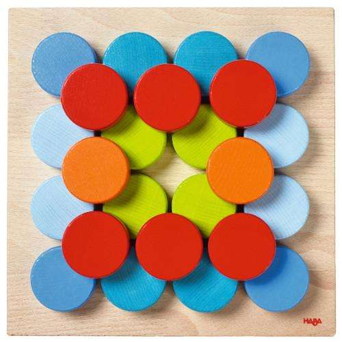 Haba Color Buttons Pegging Game - Send A Toy