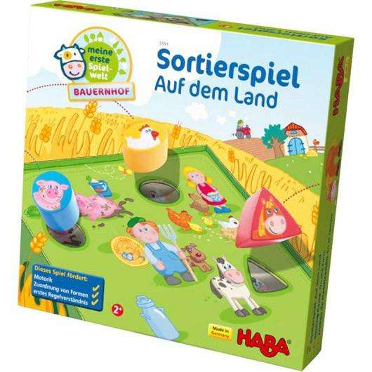 Haba Farm Sorting Game (Age 2 +) - Send A Toy