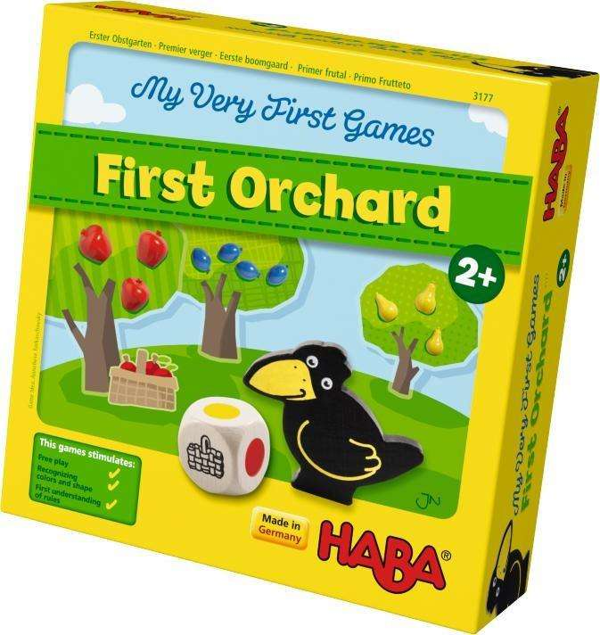 Haba First Orchard Game (Age 2 -5) - Send A Toy