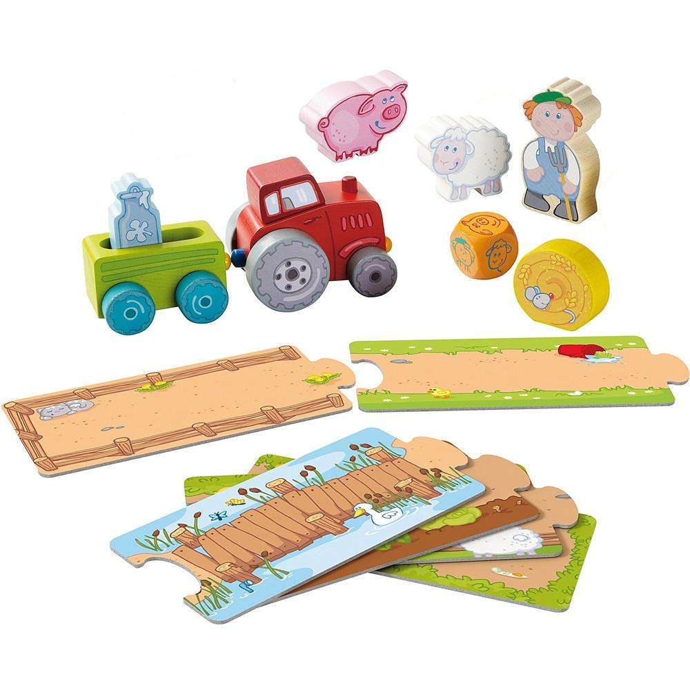 Haba Play Set - Out With The Tractor - Send A Toy