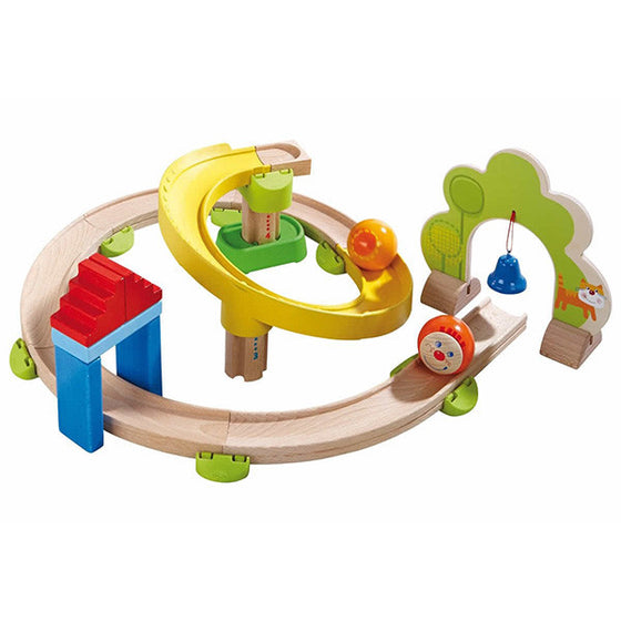 Haba Rollerby Spiral wooden ball track - Send A Toy
