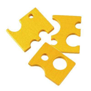 Haba - Wooden Swiss Cheese Slice - Send A Toy