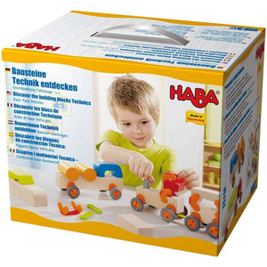 Haba Technics Building - Vehicles Pack - Send A Toy