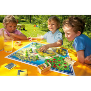 Children playing with Haba Orchard game 3103 - Send A Toy