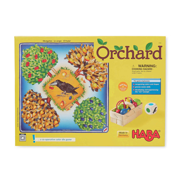 Retail box for Haba Orchard game 3103 - Send A Toy