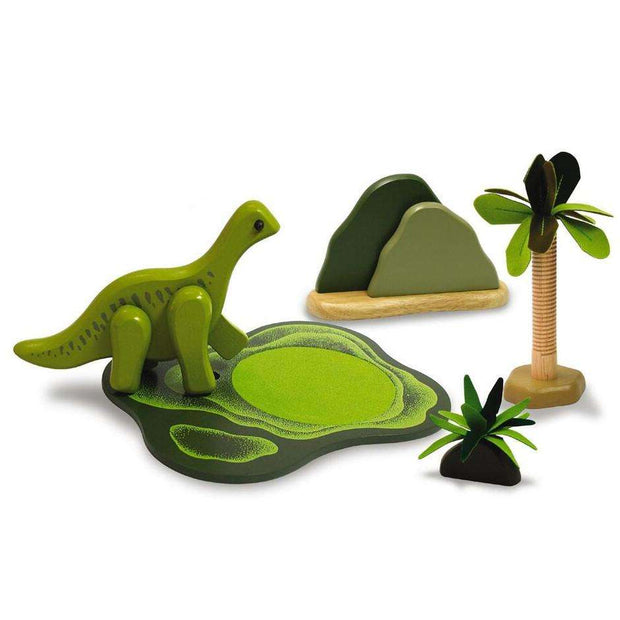 Dino habitat Playset  - Savannah - Send A Toy