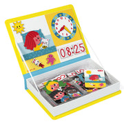 Janod magnetic time telling game J02724